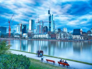 Frankfurt am Main FFM Stadt Skyline Architektur Fotografie