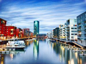 Frankfurt am Main FFM Stadt Hafen Architektur Fotografie
