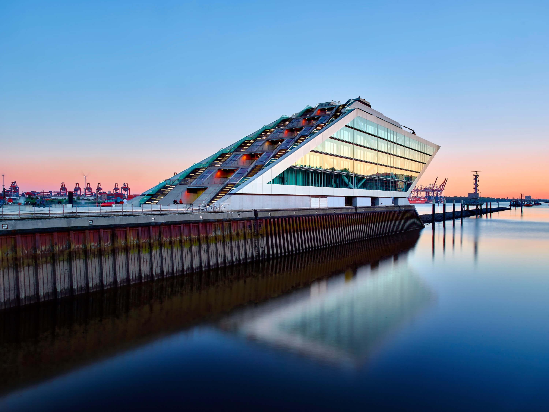 Hamburg Hafen Dockland Architektur Fotografie