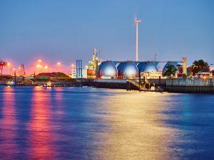 Hamburg Hafen Industrie Eier Fotografie