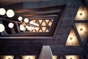 Pforzheim Rathaus Beton Architektur Fotografie