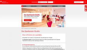 Sparkasse Pforzheim Calw Webseite Architektur Fotografie
