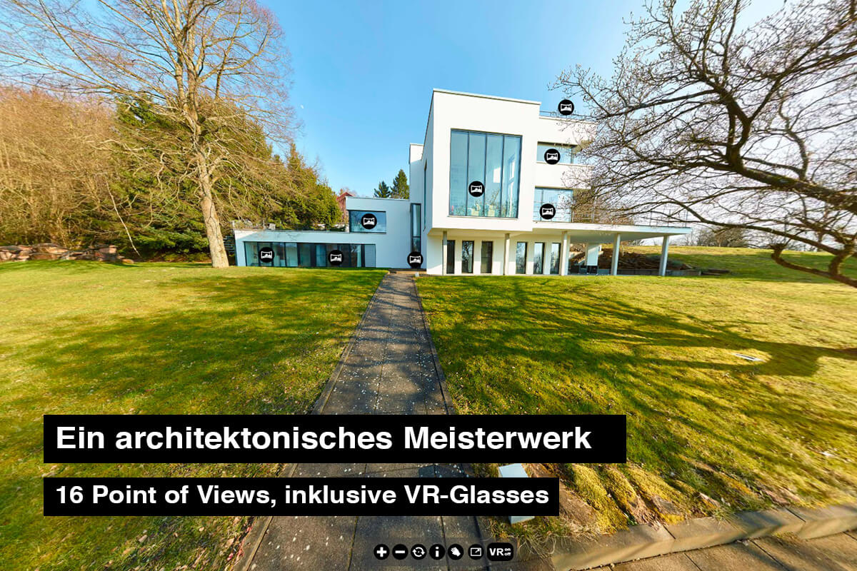 Architektur Virtual Reality VR-Tour