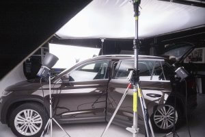 Skoda Kodiaq 4x4 Automobil Fotografie Making of