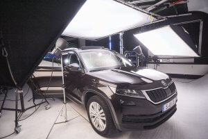 Skoda Kodiaq 4x4 Automobil Fotografie Making of